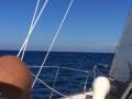 Sailing in Caribbean